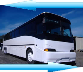 A photo of a used MCI bus for sale.  White Exterior Paint Job, Mid 1980 MCI MC9 Coach for Sale!